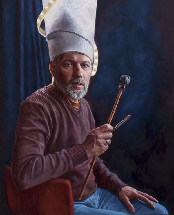 Zelfportret Peter Hengst